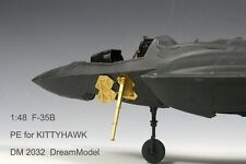 Dream Model 1/48 #2032 F-35B Lightning II Detail Up Etching Parts for Kitty Hawk