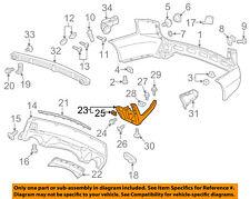 Acura HONDA OEM 07-09 MDX Rear Bumper-End Cover Right 71510STXA00ZA