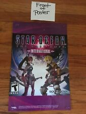 Star Ocean The Last Hope International Promo Store Poster 2010 RPG Square Enix
