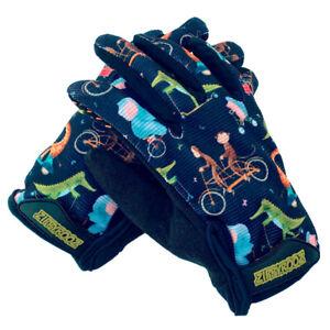 ZippyRooz Animals Toddler/ Little Kids Bike Gloves Full Long Finger Girls Boys