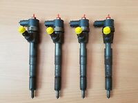 OPEL INSIGNIA 2.0CDTi 2012 4x FUEL INJECTORS SET OEM 0445110327 TESTED