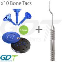 GBR System Tac Screw Case + 10 Tac Screws 5.0mm + Applicator Instrument
