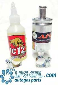 LPG Service Kit ic12 100ml & 12 x 12 Filter and Autogas Injector Cleaner