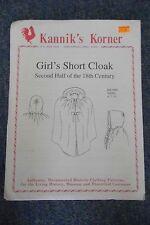 KANNIK's Korner-Ragazze Corto Mantello-seconda metà del secolo 18TH