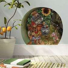 Mini Mice Mouse Garden Hole Door Wall Decals Mural Sticker Kids Nursery Decor
