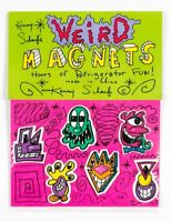Kenny Scharf weird magnets signed/packaged graffiti artist Rare Ltd Ed Warhol