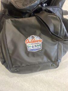 Colorado Avalanche Lake Tahoe Player Issued Fanatics  Duffle Bag  Retro Game