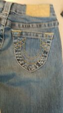 Girl's True Religion Jeans Size 24 or 14  Blue