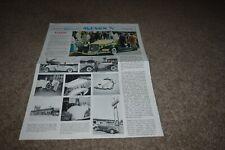 Elegant Auburn News Jan 1, 1975 V1 N2 Elegant Motors Inc newsletter
