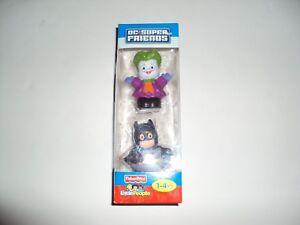 FISHER PRICE LITTLE PEOPLE DC FRIENDS BATMAN JOKER Brand New In BOX