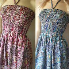Bali Boho hippy chic hippie summer day beach party day womens dress size S M L