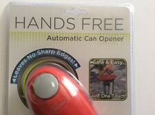 "2014 Red Hands-Free ""Automatic Can Opener� New In Package, Unopened"