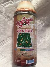 A Christmas Story Boxer Shorts Size Small Leg Lamp It's A Major Award In Can NEW