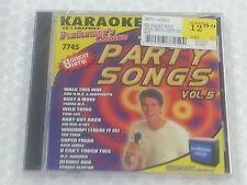 Performer's Choice Karaoke Disc 7745 Party Songs Vol. 5 CDG CD+G