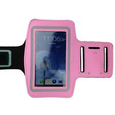 Soft Pink Sports Running Gym Armband Band Case for Samsung Galaxy S5 S4 S3 S2