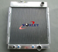 3 ROW FOR Ford MUSTANG V8 289 302 WINDSOR 1964 1965 1966 64-66 ALUMINUM RADIATOR