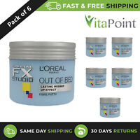 L'Oreal Special FX Studio Out Of Bed Fiber Putty 150ml / Pack Of 6