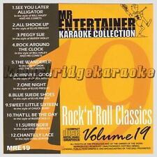 Mr Entertainer Rock Karaoke CDGs & DVDs