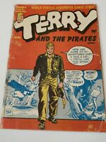 Terry and the Pirates comic book Harvey Publications June 1947 vol. 1 no. 4
