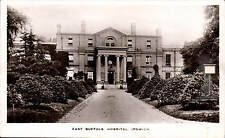Ipswich. East Suffolk Hospital in Boots Real Photograph Series.