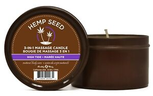 Hemp Seed Massage Candle Oil High Tide Moisturizing Sensual Body Foreplay Drip