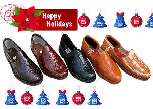 Men's Closed Toe Genuine Leather Mexican Huarache Sandals -Closed Toe