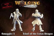 Micro Art Studios Wolsung BNIB Triad of Lotus Dragon - Smuggler V.2 (1) W00112