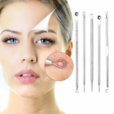 5Pcs Blackhead Remover Cleaner Extractor Needle Acne Pimple Spot Remover Tools