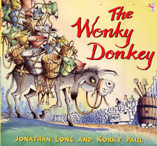 The Wonky Donkey, Good Condition Book, Long, Jonathan, ISBN 9780099263968
