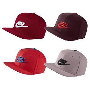 Adult Unisex Nike Sportwear Pro NSW Futura Snapback Cap Hat Flat Brim Adjustable
