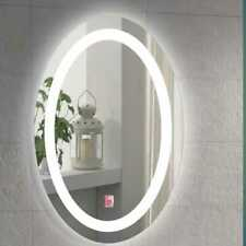 750*600mm Illuminated Color LED Mirror Touch Sensor