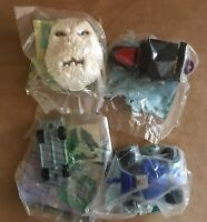 Totally Toy Holiday McDonalds Happy Meal Toy lot 4 new sealed