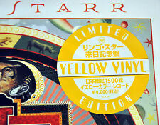 "Ringo STARR Time+1 JAPAN 12"" YELLOW, RED and GREEN 180G VINYL Record NEW BEATLES"