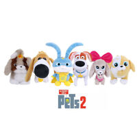 The Secret Life of Pets 2 Plush Soft Toys Max Gidget Daisy Snowball Dog Rooster