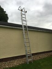 More details for youngman roof ladder double extension 4.3 - 7.1m cat ladder roof ladder