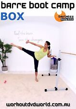 Cardio Sculpting EXERCISE DVD - Barlates Body Blitz BARRE BOOT CAMP BOX!