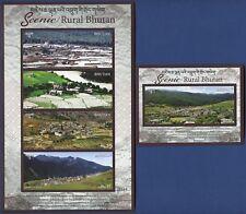 Bhutan 2017 Ansichten Architektur Naturschönheiten Tourismus Postfrisch MNH