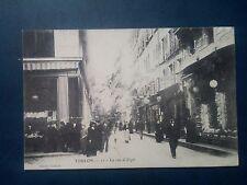 M053. Cpa. 83. Toulon. La Rue d'Alger. 1907