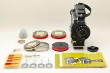 【Rare! /AB Exc+】 Bolex H-16 SBM 16mm Movie Camera w/Accessories From JAPAN #2895
