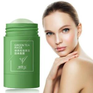 Green Tea Purifying Clay Stick Mask Oil-Control Anti-Acne Eggplant New