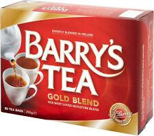 BARRYS TEA GOLD BLEND 80 TEABAGS