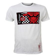 NBA camiseta Chicago Bulls M y N los hombres cultivos blancos cuello redondo