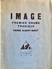 (Avant-garde, théâtre) Pierre-Albert BIROT - Image E O Editions Jean BUDRY 1924
