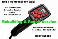 REBUILD SERVICE - BLIZZARD SNOWEX FLEET FLEX  SNOW PLOW 4PIN CONTROLLER REPAIR