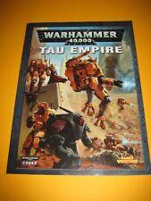 Warhammer 40k - Codex - Tau Empire - Englisch