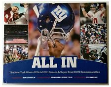 "New York Giants NFL Super Bowl XLVI Champions ""ALL IN"" HB"