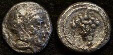 Cilicia, Soloi AR Hemiobol. Athena / Grape