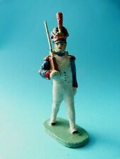 Soldat du 1er empire en composition CELLOSE comme ELASTOLIN DURSO