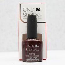 CND Shellac UV Nail Polish Choose From 116 Colours Top Xpress5 & DuraForce Oxblood