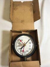 Vintage Steampunk Marshalltown Test Gauge Pressure Gauge Large Face Adjustable